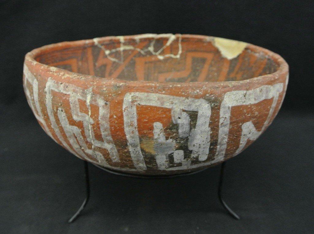 8: Prehistoric St. John's Polychrome Pottery Bow