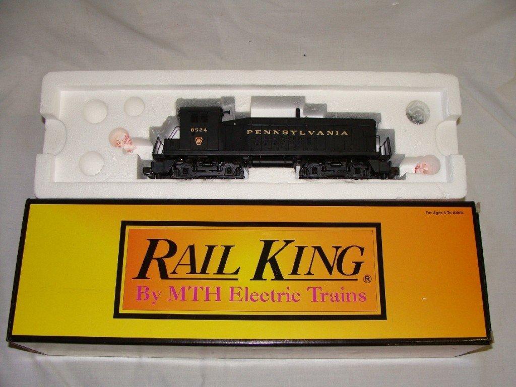 10: RailKing Pennsylvania SW 9 Switcher Diesel Engine C
