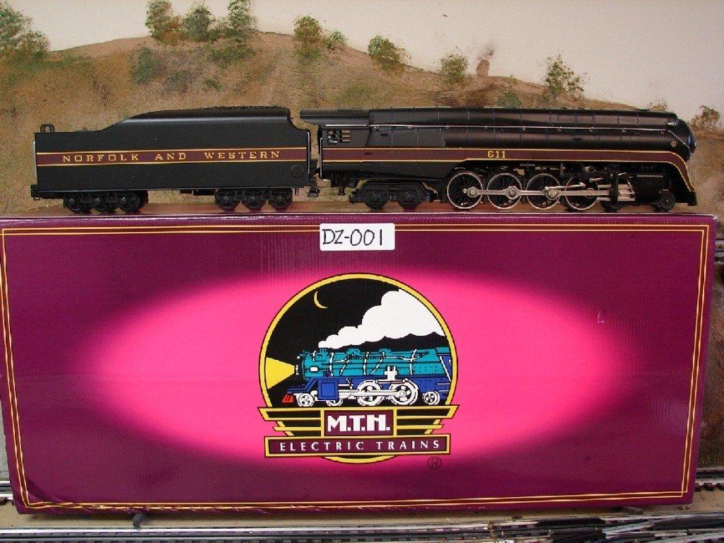 14: MTH Norfolk & Western  J Northern #611 Locomotive w