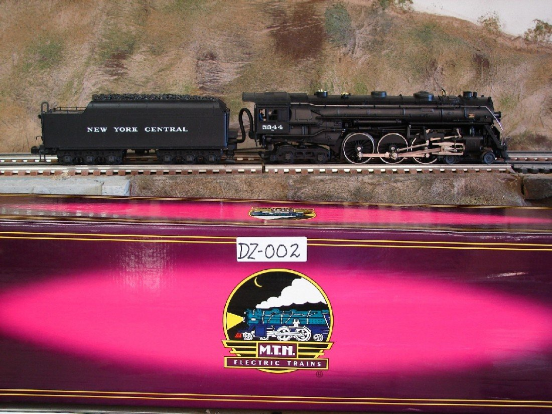 15: MTH New York Central J1E Hudson 5344 Locomotive w P