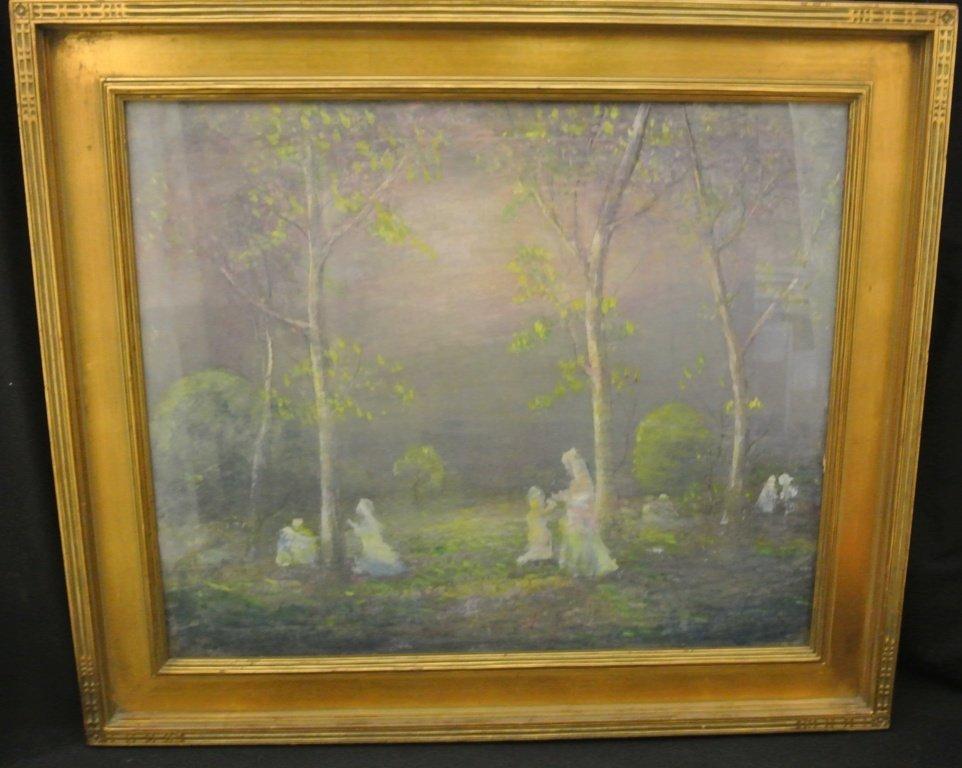 116: Esau Halow Oil on Canvas