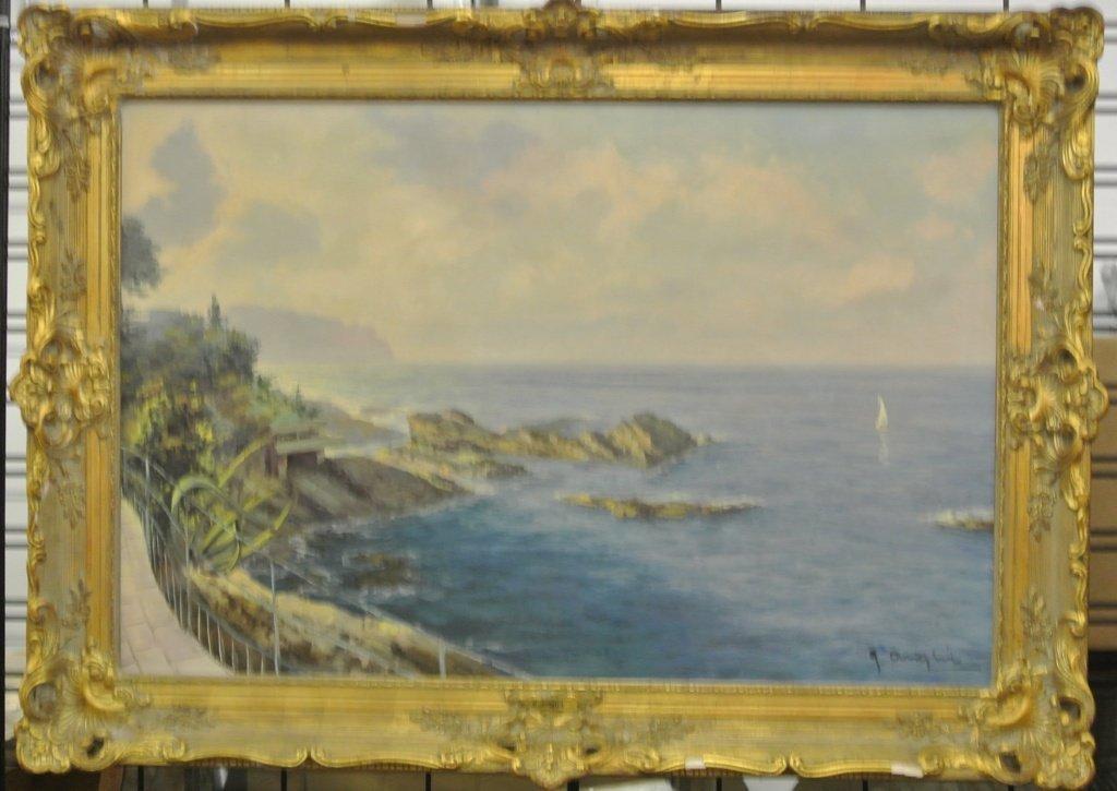 118: G.Ariglia Oil on Canvas