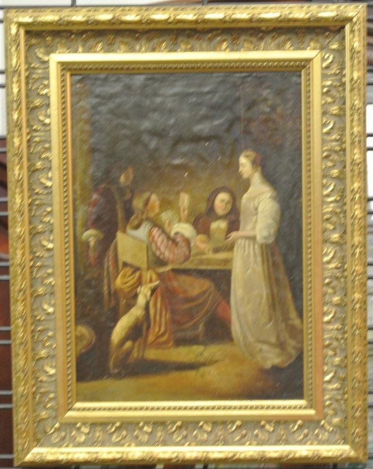 119: 18th c. Dutch School Oil on Canvas