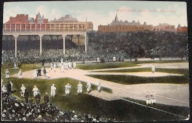 1: 1909 Pittsburgh Forbes Field Postcard