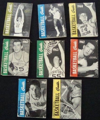5: 1960s-70s NCAA Official Basketball Guides