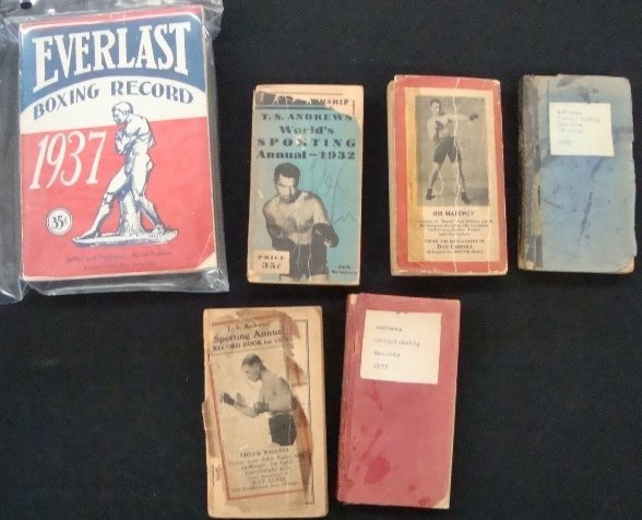 8: 1926-33 T.S. Andrews Boxing Annual Record Books, Eve