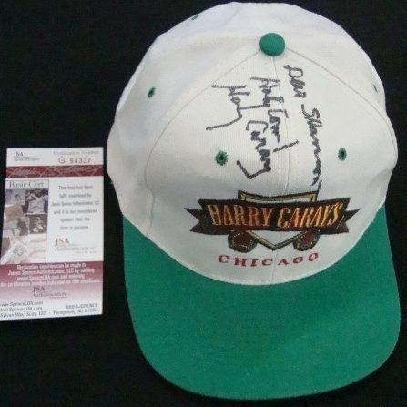 11: Harry Caray's Autographed HC Chicago Hat, JSA