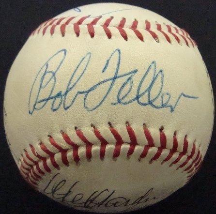 13: Autographed Wilson Baseball, (11) Signatures, HOFer