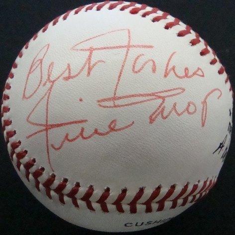 15: Willie Mays Single Signed Baseball