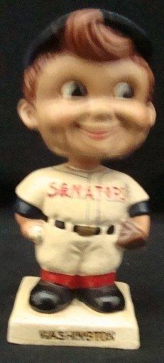 20: 1960's Washington Senators White Base Nodder