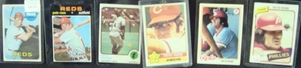 22: 1969-80 Topps Pete Rose Star Card Lot