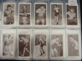 1938 Churchman Boxing Complete Set