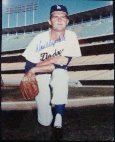 39: Don Drysdale Autographed 8x10 Photo, JSA