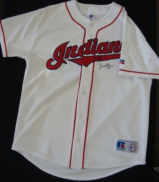 50: Mike Hargrove Buddy Bell Signed Indians Jersey
