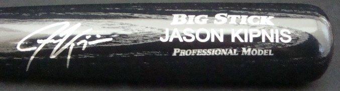 53: Jason Kipnis Autographed Rawlings Bat, JSA
