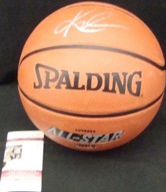 58: Kyrie Irving Autographed NBA Basketball