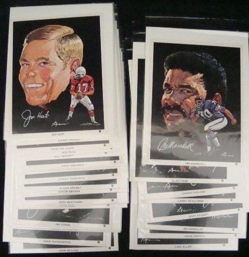 63: 1970 Clark Volpe Football Portraits, (31) Marshall