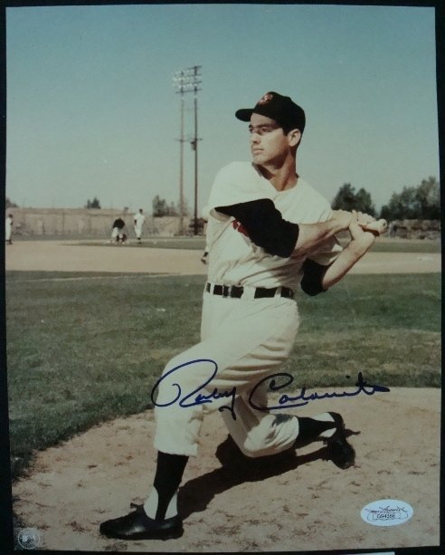 79: Rocky Colavito Signed 8x10 Photo, JSA