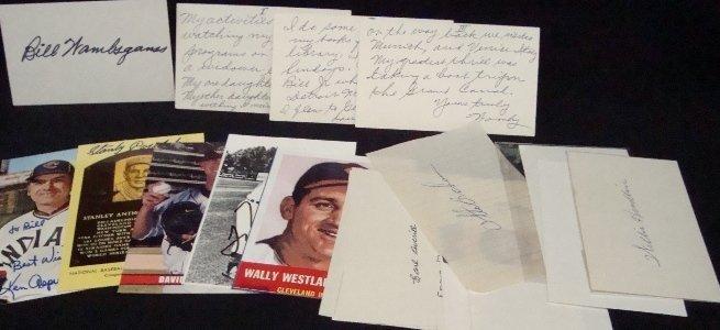 85: Lot of (17) Signature Cuts & Postcards, JSA