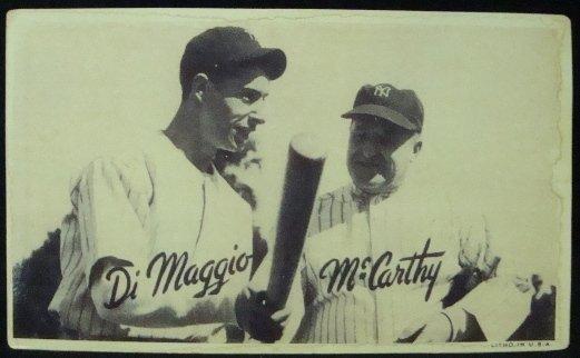 86: 1936 Goudey Wide Pen Premium DiMaggio