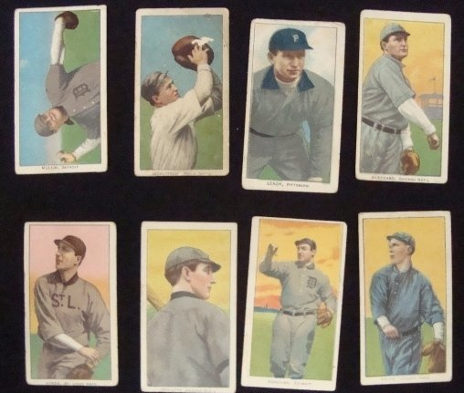 141: (8) T206 Tobacco Cards, Mullin, Jones