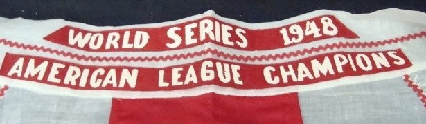 225: 1948 World Series Cleveland Indians Apron - 2