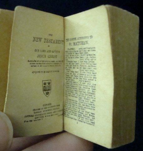 6: Miniature New Testament, Oxford Press