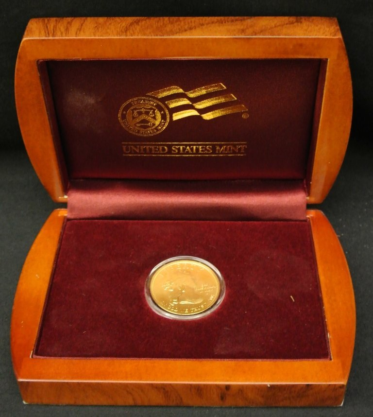 59: 2007 Jefferson First Spouse $10 Gold Coin