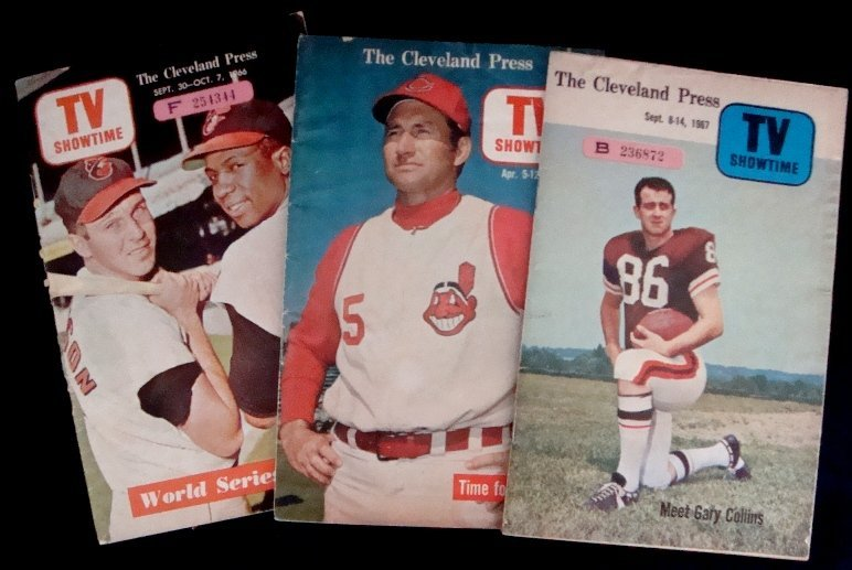 1: 1960's Cleveland Press TV Showtime Issues