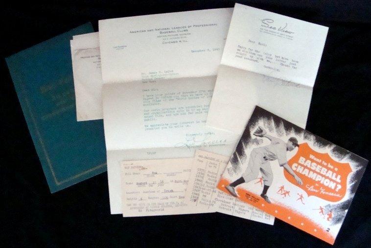 2: Vintage Signed Cleveland Sports Memorabilia Lot