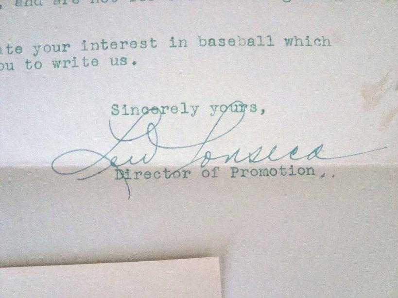 2: Vintage Signed Cleveland Sports Memorabilia Lot - 4