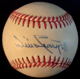 7: Willie Stargell Single Signed Baseball, JSA