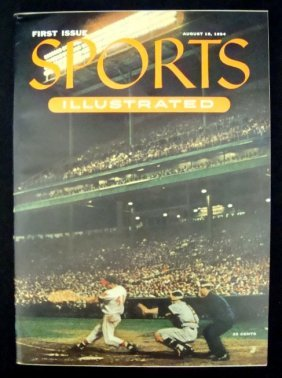 13: 1954 Sports Illustrated First Issue Magazine, NM