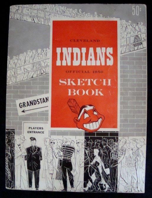 18: 1950 Cleveland Indians Sketch Book