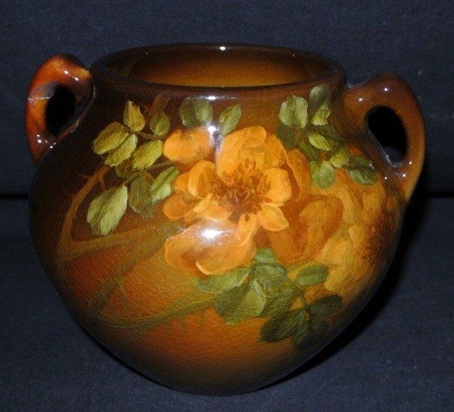 3: Rookwood 906D Roses Vase Hurley