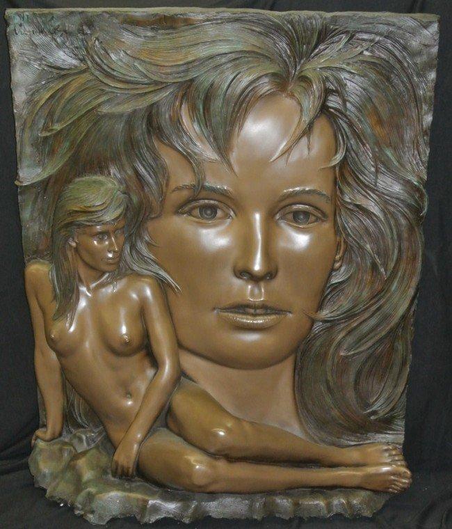 "11: Bill Mack ""Visions"" Bonded Bronze"