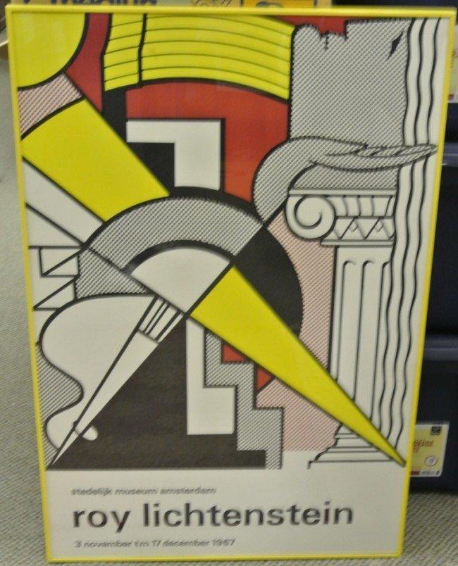 19: 1967 Roy Lichtenstein Stedelijk Museum Exhibition