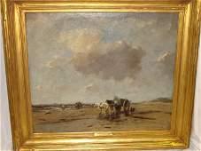 190A Johan Frederik Cornelis Scherrewitz Oil Canvas K