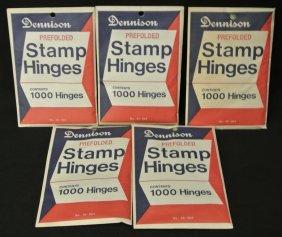 4: (5)Packs of Dennison Hinges