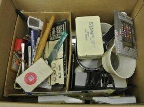 5: Balance of One Man's Stamp Supplies Lot