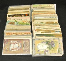 20: Valentine & Holidays Postcard Lot