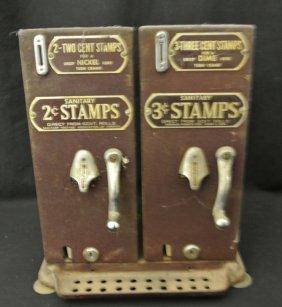 23: Schermack @c and 3c Dual Stamp Sales Dispenser