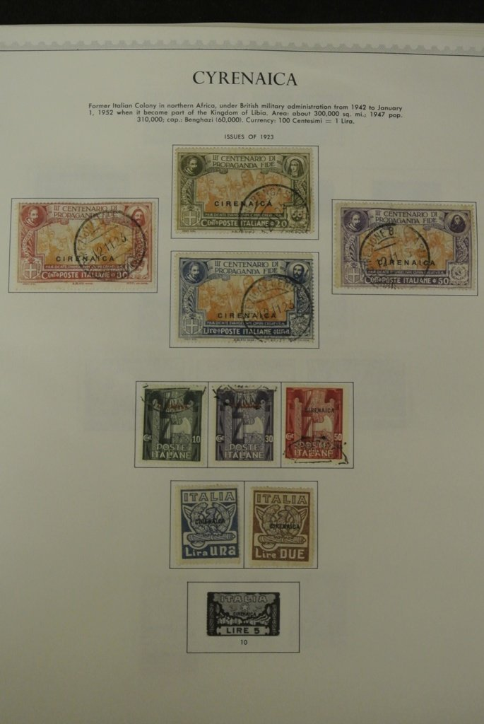 356: Cyrenaica Unused Used Stamp Collection