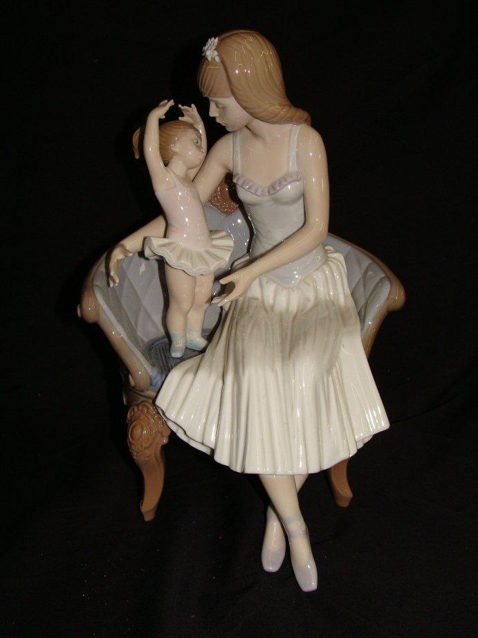 18: lladro 5793 precocious ballerina w box & Inserts