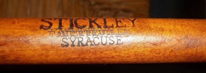 45: Six Stickley Rush Bottom Ladder Back Chairs - 6