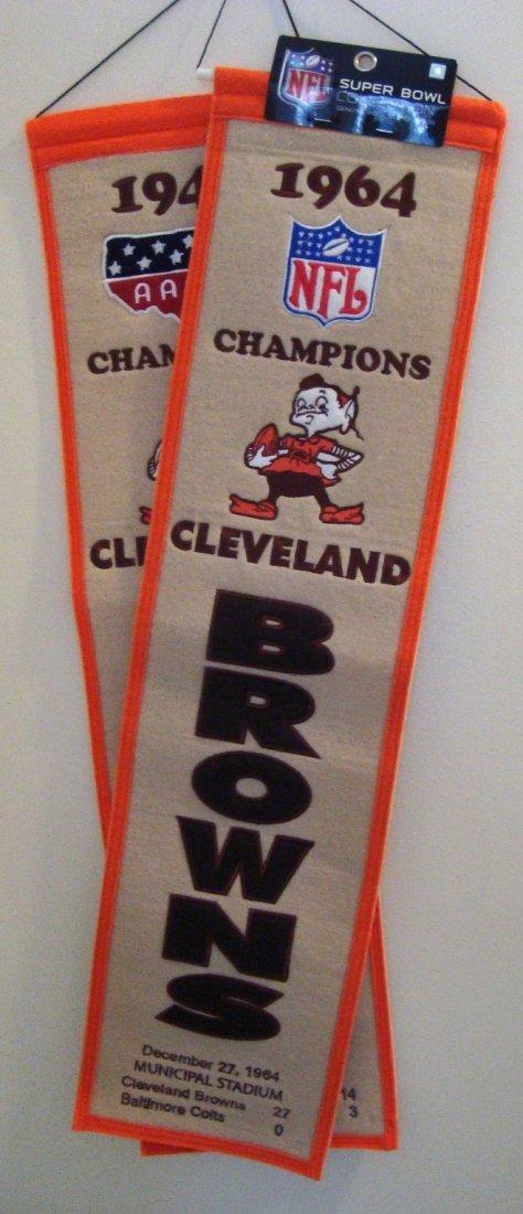 2: 1947 & 1964 Cleveland Browns Championship Commemorat