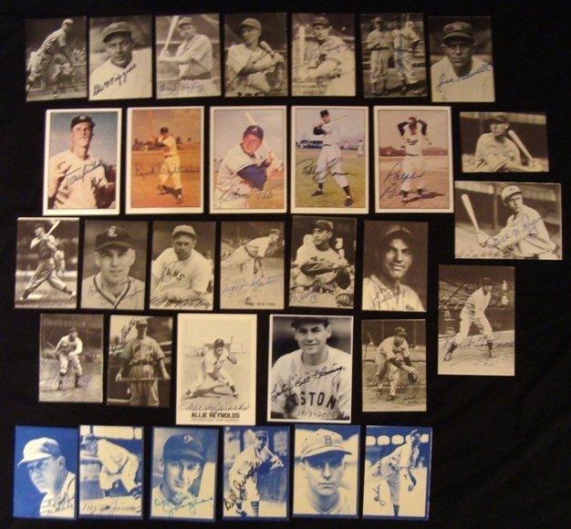 7: 1970's TCMA Autographed Card Lot & Misc Signatures