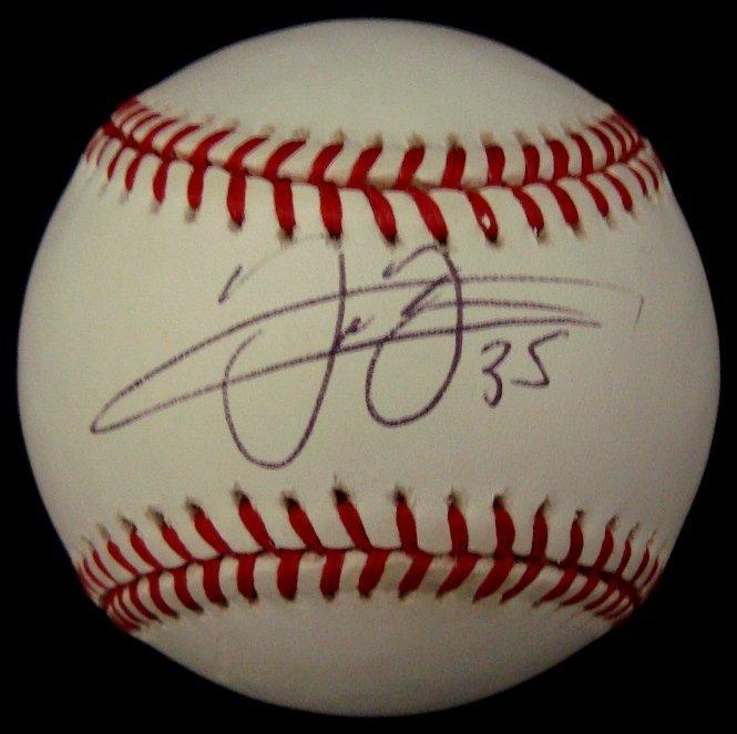 20: Frank Thomas Single Signed Baseball