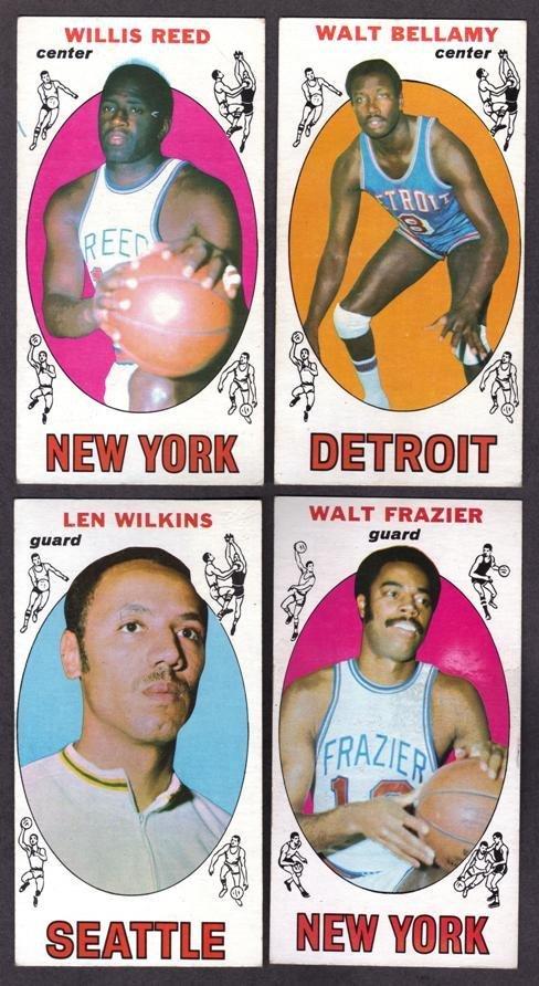 24: 1969-71 Topps Basketball Card Lot