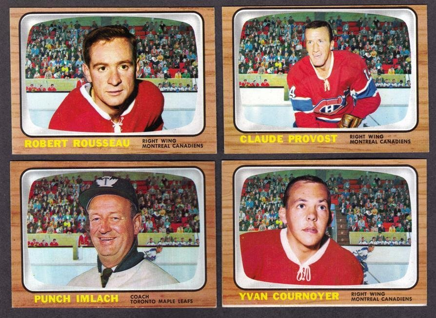 250: 1966 Topps USA Test Hockey Card Lot (36)